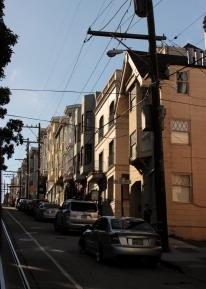 Dans les rues de San Francisco