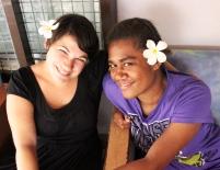 Avec mon amie Rosa