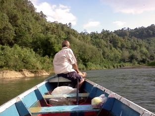 sur la Rivière de Navua
