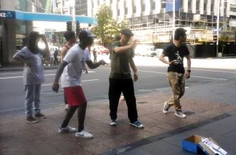 danceurs de rue