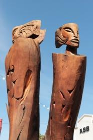 dans les rues de Rotorua