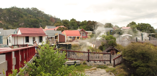 village de Whakarewrewa
