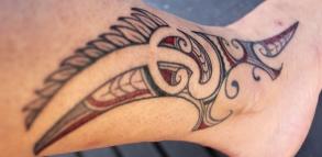 tatouage Maori : le moko