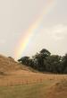après la pluie, l'arc en ciel
