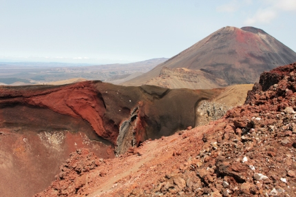 Red Crater et Mont Ngauruhoe, Tongariro National Park