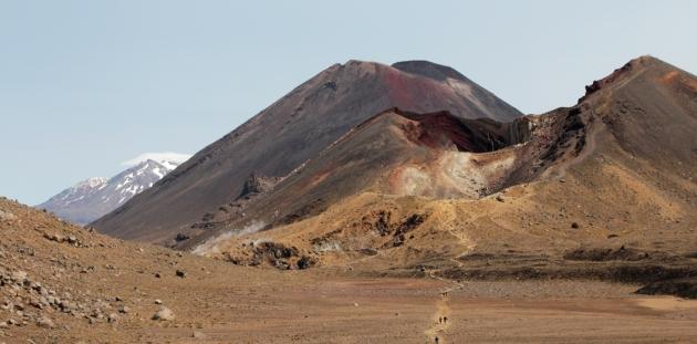 Mont Tongariro, Ngauruhoe et Ruapehu - Tongariro National Park