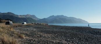 Free camp au bord de la plage