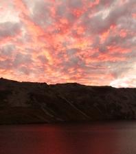 Jour 2 : Couché du soleil sur le lac Angelus - Parc National des lacs Nelson