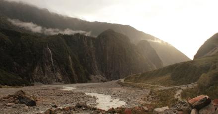 En route pour Wanaka - Vallée de Fox Glacier
