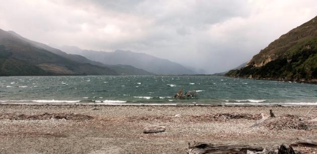 En route pour Wanaka - Lac Wanaka