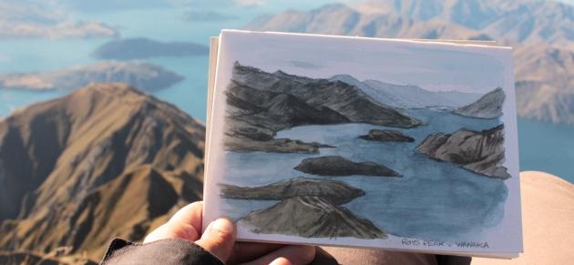 Vue depuis Roys Peak
