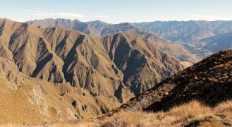En chemin pour Roys Peak