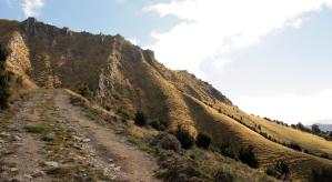 en route pour Isthmus Peak