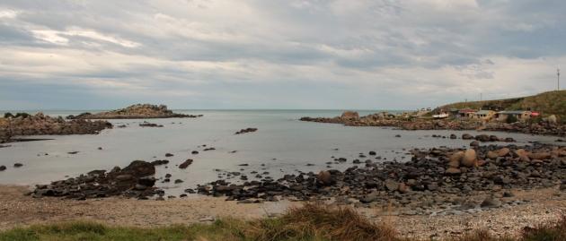 Vllage de pêcheurs de Colac Bay