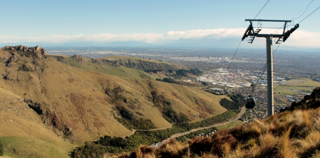 Vue de Christchurch