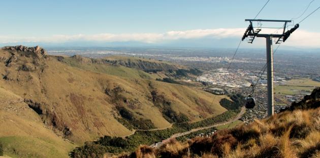 Vue de Christchurch