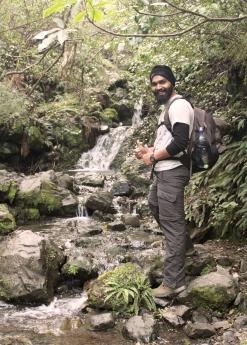 Hilal - En chemin pour la cascade Dog Stream