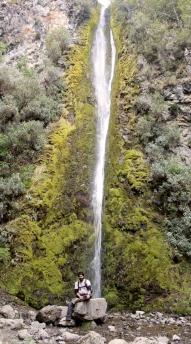 Hilal - la vertigineuse cascade de Dog Stream