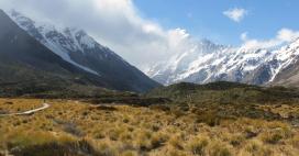 Mont Cook - Randonnée à Hooker Valley