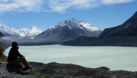 Randonnée à Tasman Valley
