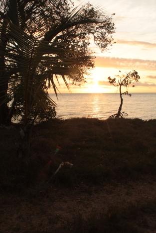 couché du soleil à Pindai