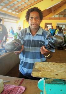 Crabes de cocotiers - marché de We