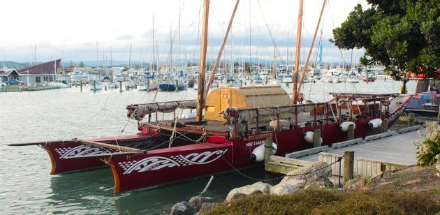 Depuis le port de Napier