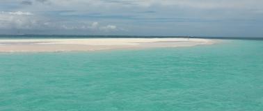 arrivée à l'atoll de Nokanhui