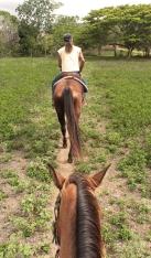 randonnée à cheval à la Foa