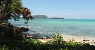 Arrivé à Port Vila