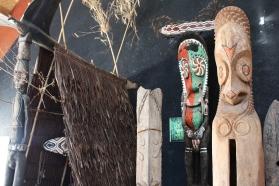 Status au musée du Vanuatu