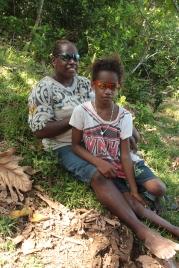 Nadège et sa fille