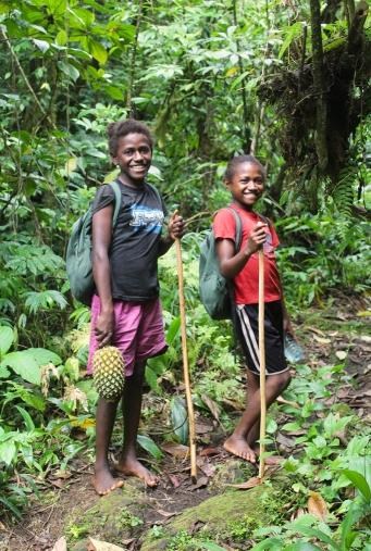 Treck dans la jungle avec mes petites guides