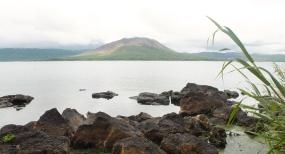 Le Mont Garet et le lac Letas