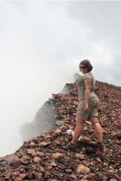 Au bord du cratère - Mont Garet