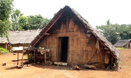 Maison du village de Fanafo