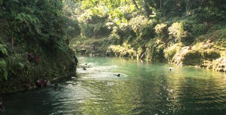 La rivière de Fanafo