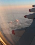 Depart pour l'Australie, le Mont Cook vue du ciel