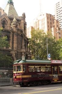 Tramway d'époque - promenade dans Melbourne