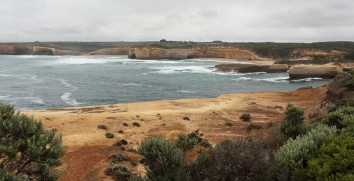 en route sur la Great Ocean Road