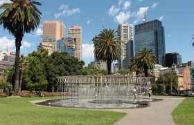 Parliement Garden - Melbourne