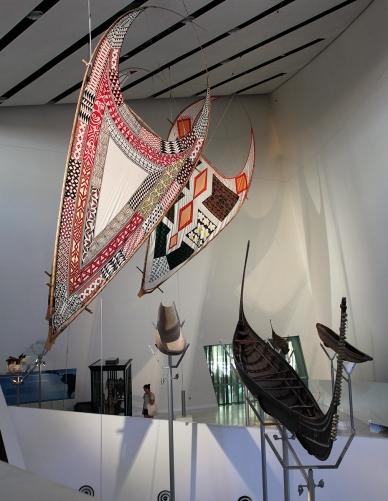 art aborigène - Musée de Melbourne