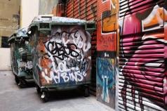 Dans les rues de Melbourne