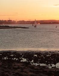 Coucher de soleil - Newcastle