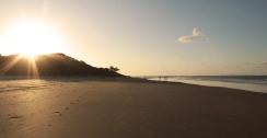 Couché de soleil à Lookout Point - Straddie