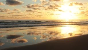 Levé du soleil à Lookout Point - Straddie