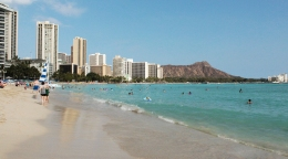 Plage de Waikiki