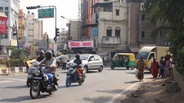dans les rues de bangalore