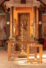 dans un temple hindoue