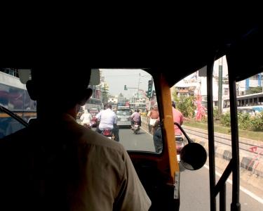 Dans les rues de Trivandrum